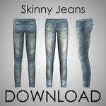 MMD - Male Skinny Jeans Download