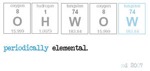 Periodically Elemental by bluebug