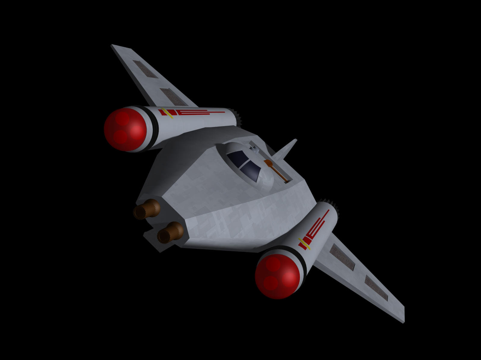 TOS tactical fighter by davemetlesits