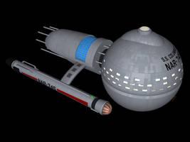 TOS-R Medusan ship