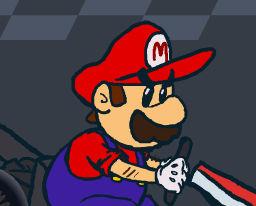 Mario Kart Animation