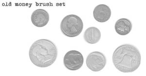 old money brush set