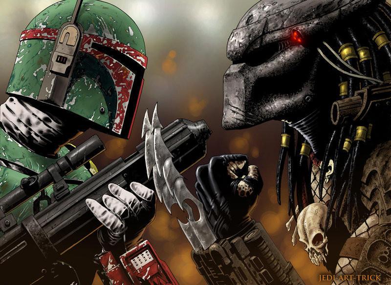 Boba Fett vs. Predator by MPZA on DeviantArt