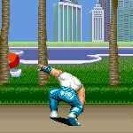 Final Fight New Animation - Cody somersault kick