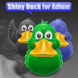 Shiny Duck for Adium
