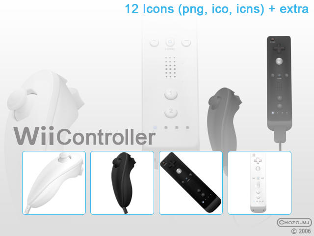 Wii controller by Chozo-MJ