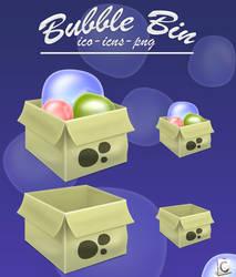 Bubble bin
