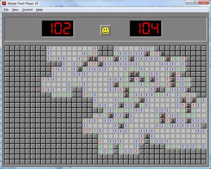 Minesweeper Flash