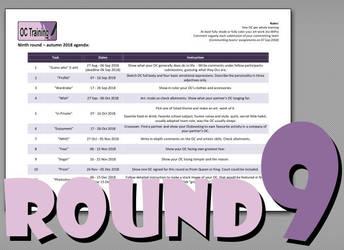 OC Training 9th round agenda by Akaszik