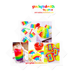 PACK PSD COLORING #03 - RAINBOW