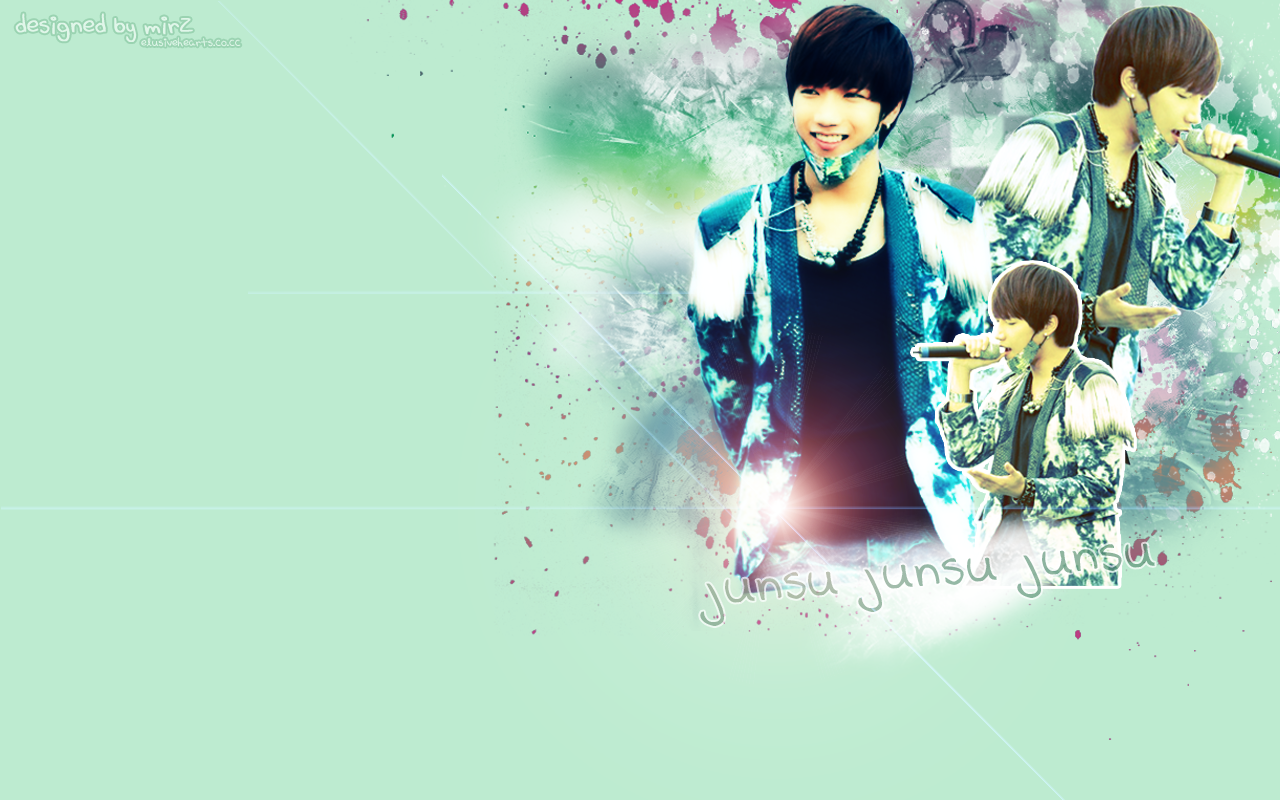 2PM39;s Junsu wallpaper by ~kimbopeep on deviantART