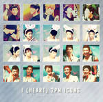 Icon pack 3: I heart 2PM