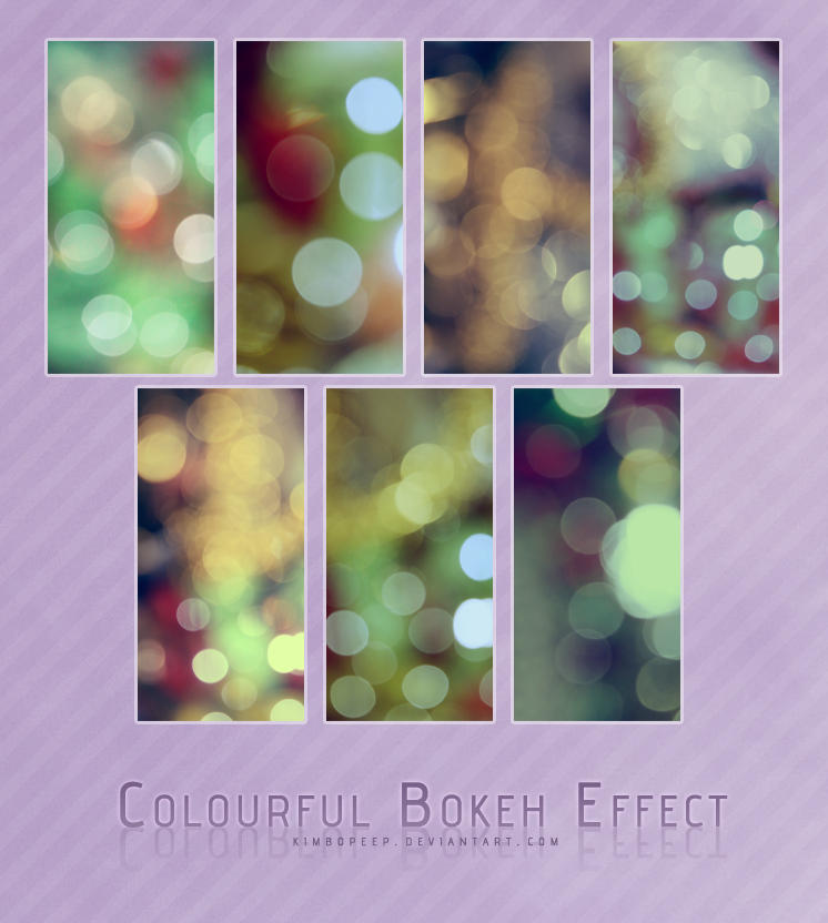 Colourful Bokeh Effect by kimbopeep