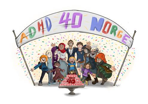 Adhdnorge 40 years