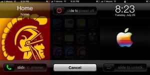 Custom iPhone Sliders