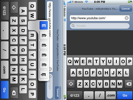 Eclipse iPhone Keyboard