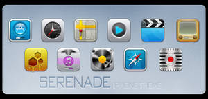 Serenade iPhone Theme
