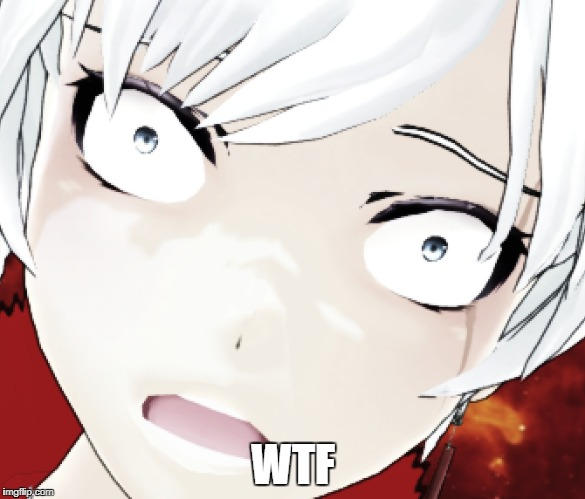 Weiss react to.... something