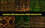 Lysergica 3d Landscape parameters