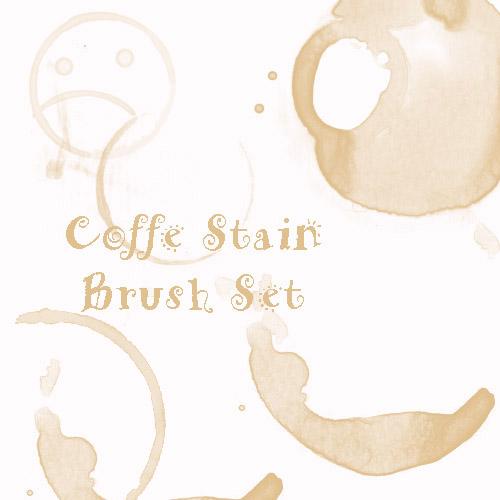 Coffe Stain Brush Set