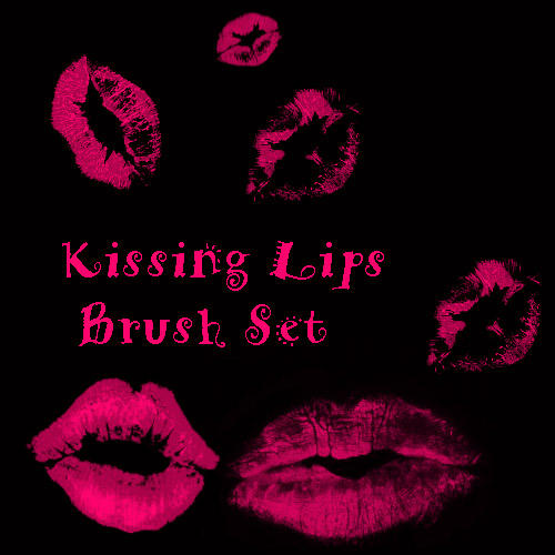 Lips Kisses Brush Set by eMelody