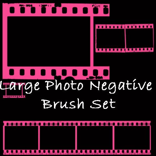 Photo Negative Brush Set