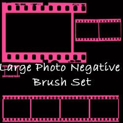Photo Negative Brush Set by eMelody