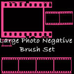 Photo Negative Brush Set