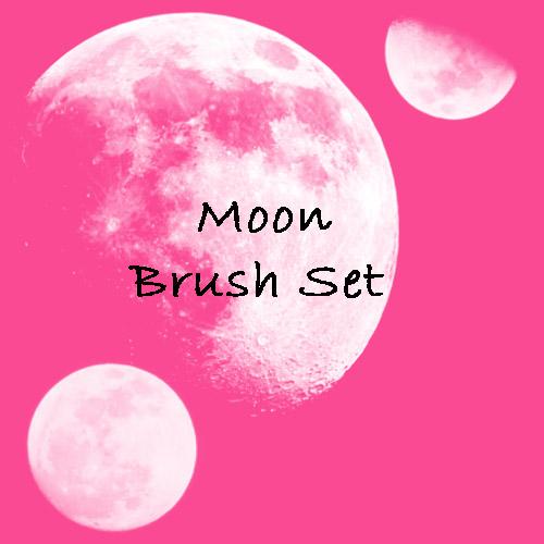 Moon Brush Set by eMelody