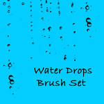 Water Drops Brush Set