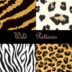 Wild Photoshop Patterns by eMelody