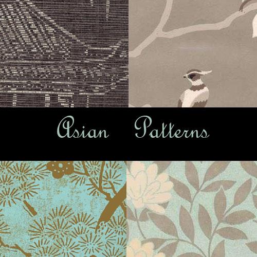 Asian Photoshop Patterns