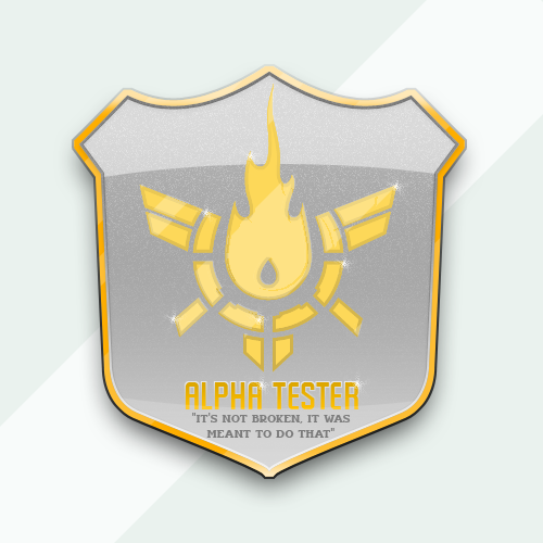 Napalm Alpha Badge by chalkley3