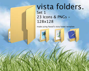 Windows Vista Folders Set 1 by chalkley3