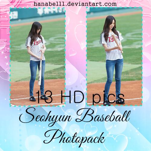 Photopack#2 Seohyun Baseball by HanaBell1
