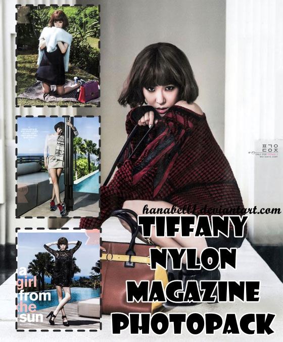 Photopack#7 Tiffany Nylon Magazine by HanaBell1