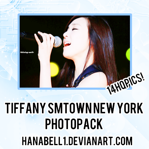 Photopack#23 Tiffany SMTown New York by HanaBell1