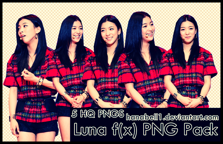 Luna f(x) PNG Pack by HanaBell1 on DeviantArt F(x) Luna 2014