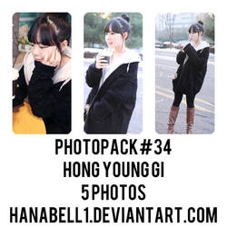 Photopack#34 Hong Young Gi