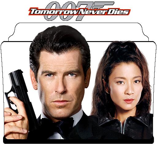Tomorrow Never Dies 1997 Movie Folder Icon By Nandha602 On Deviantart