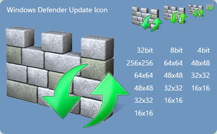 Windows Defender Update Icon for Windows 8