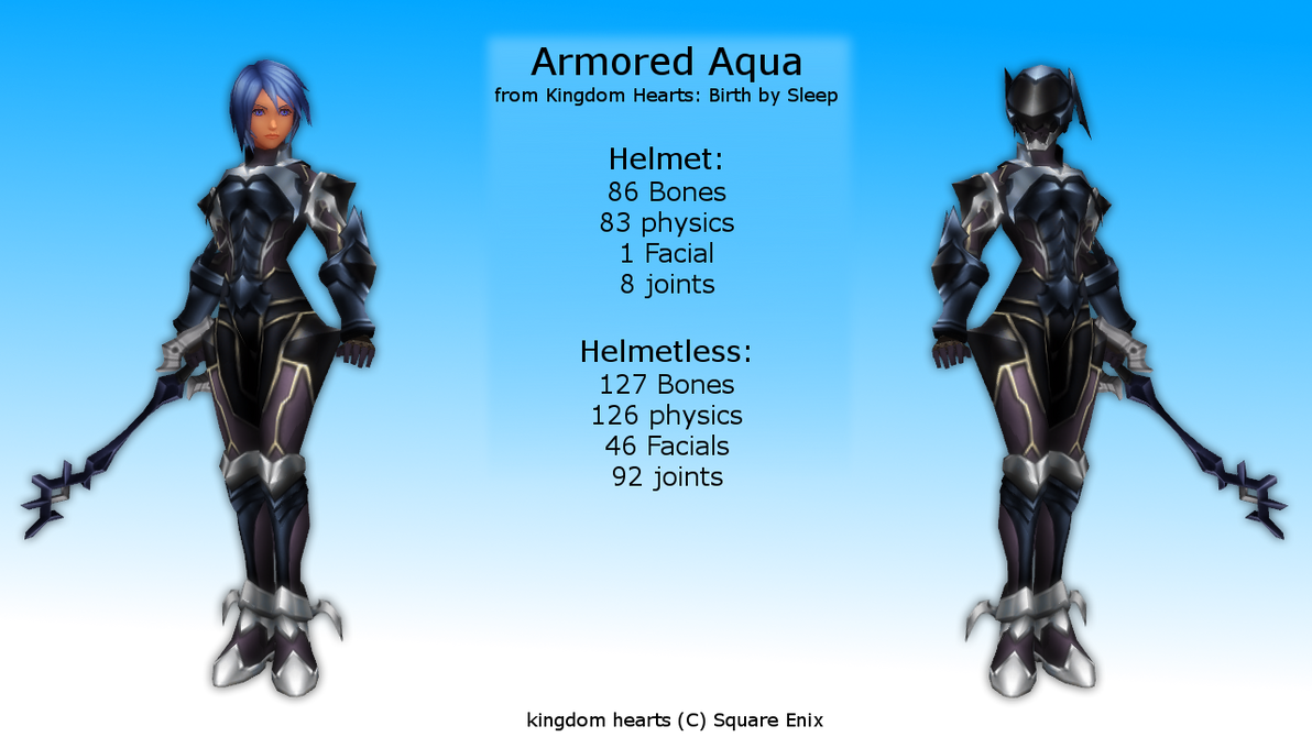 Fiona Belli - Demento - Haunting Ground - con armadura Aqua  Fiona Belli - D...