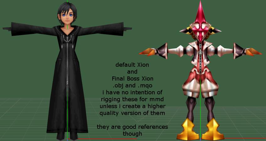 obj and .mqo Xion Models by 0-0-Alice-0-0 on DeviantArt