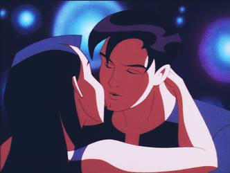 Batman Beyond: The Almost Kiss Scene Gif by CrawfordJenny