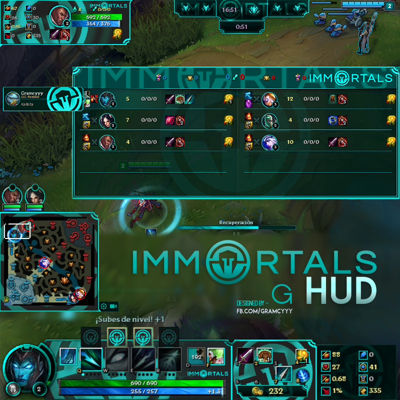 immortals wallpaper lcs