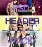 PSD HEADER PACK