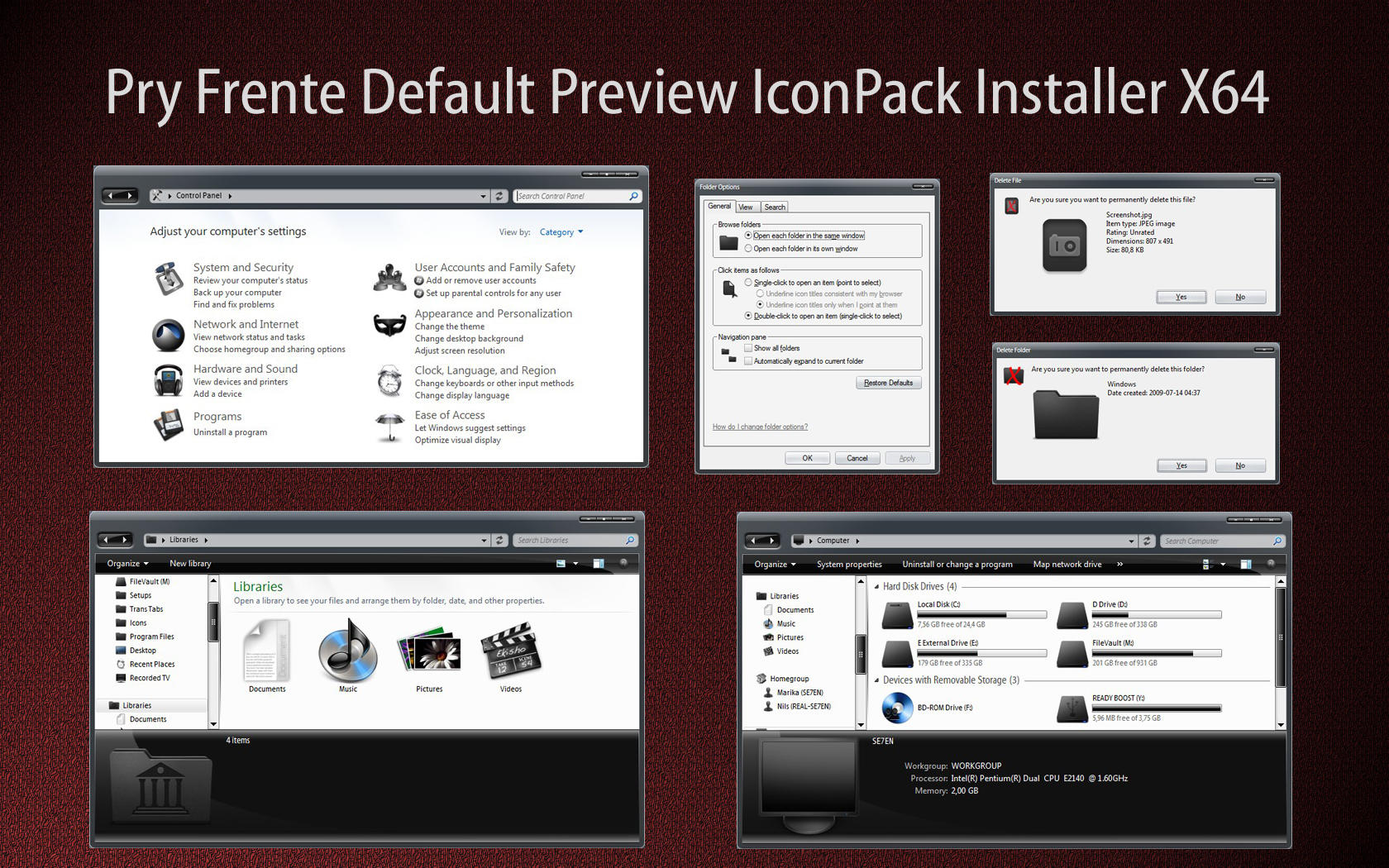 Pry Fr. iconPack Def Inst X64 by Mr-Ragnarok