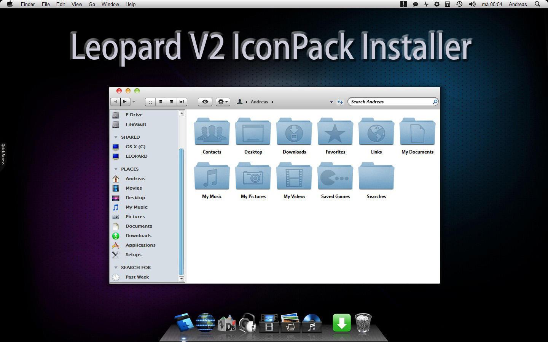 Leopard V2 IconPack Inst. X86 by Mr-Ragnarok