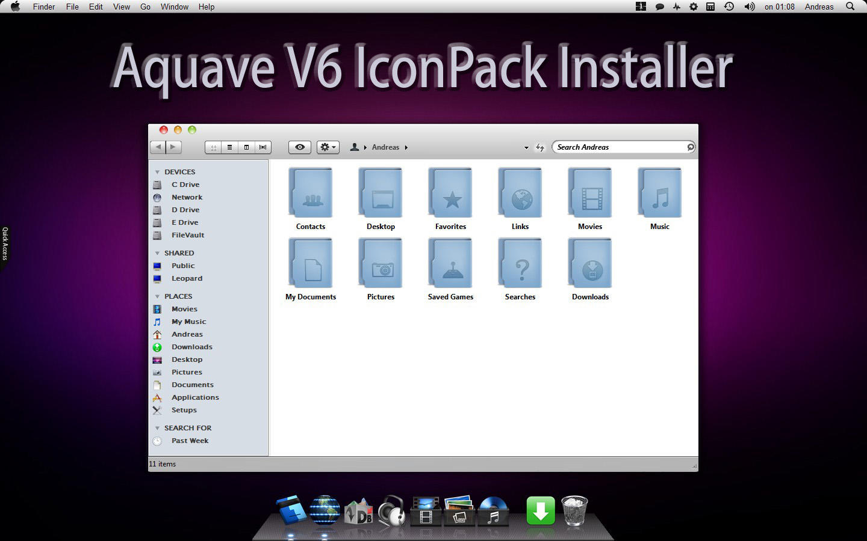 Aquave V6 IconPack Inst. X86 by Mr-Ragnarok