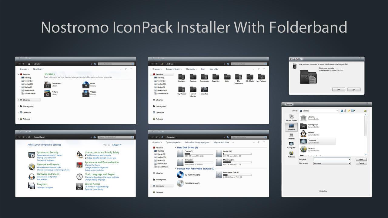 Nostromo IconPack Inst. X64 by Mr-Ragnarok